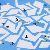 ひめくりオリジナルポストカード(白鳥)