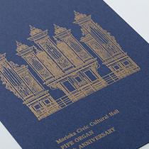 パイプオルガン設置15周年記念ポストカード